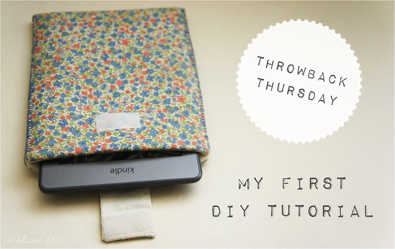 throwback thursday first diy tutorial