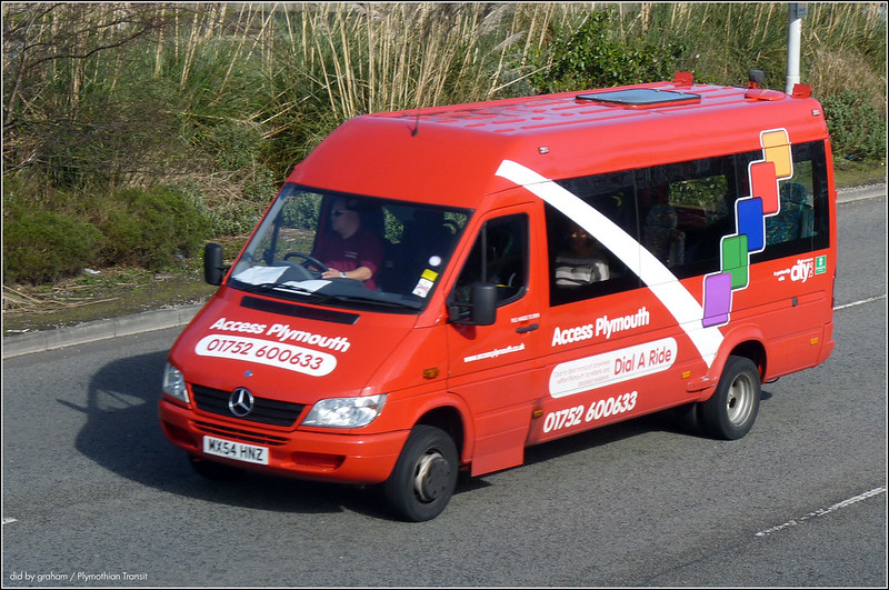 Plymouth Citybus MX54HNZ
