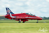 Red Arrows 50th Anniversary Tail Design
