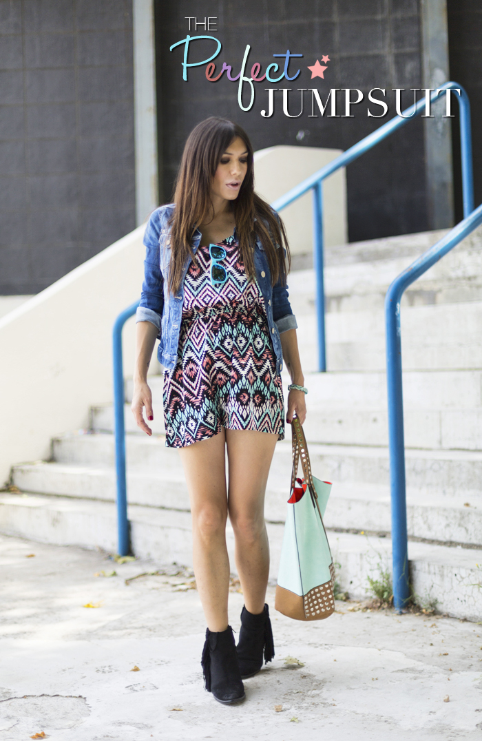 street style barbara crespo C&A jumpsuit colors fashion blogger outfit blog de moda