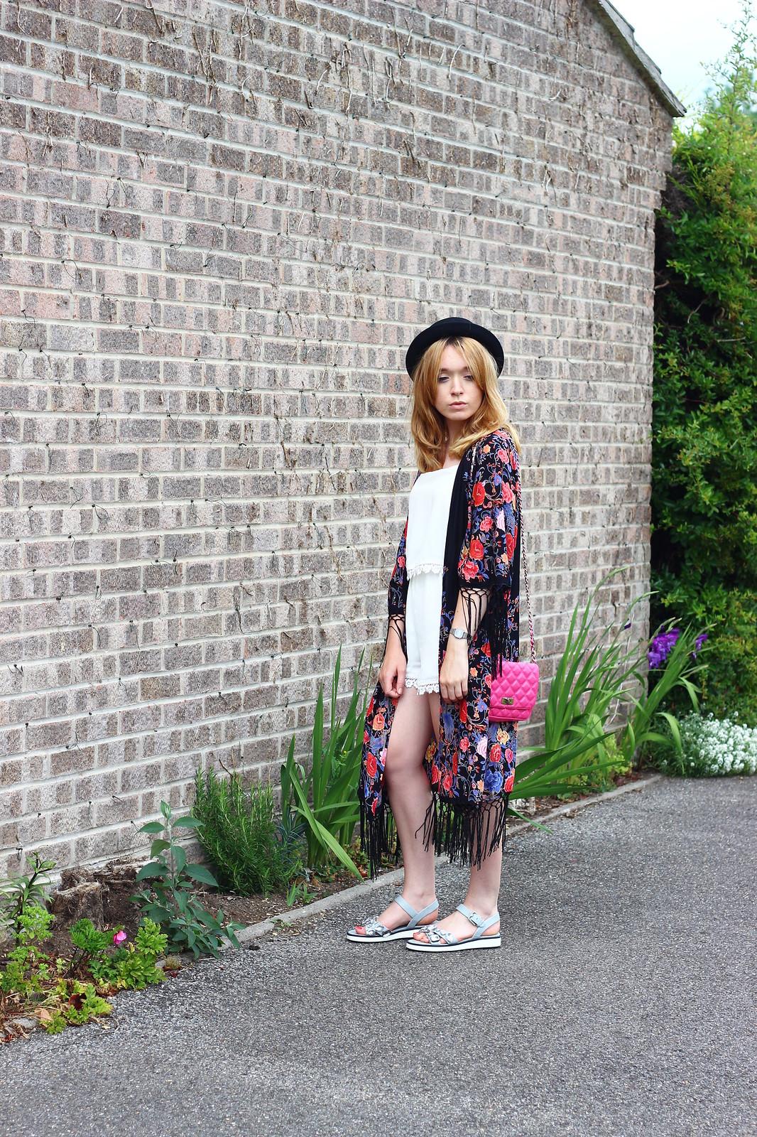 2primarkkimono, festival fashion, kimono, floral