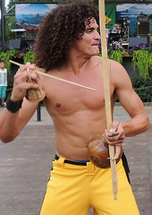 Capoeira  dancer
