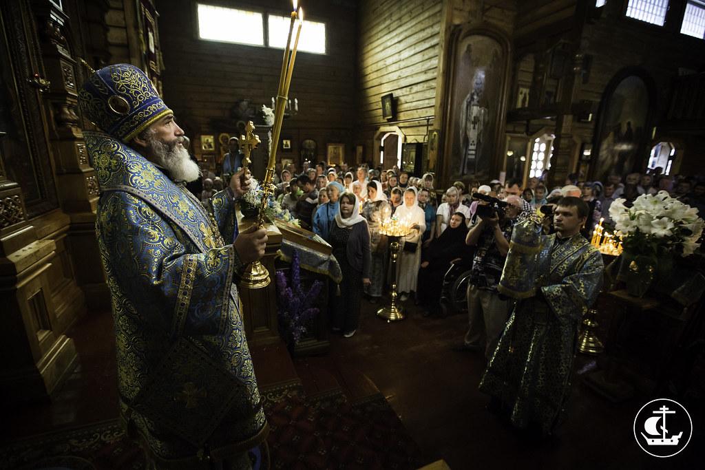 19 июля 2014, 100-летие освящения Казанского храма в п. Вырица