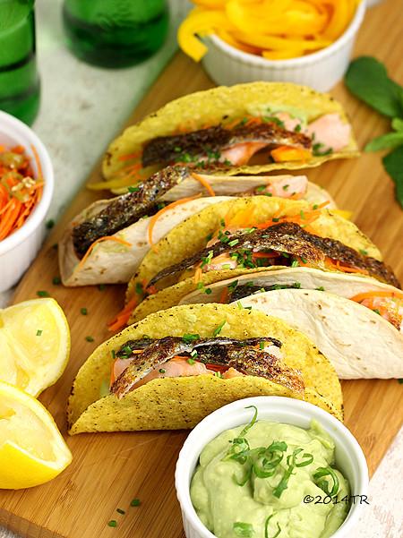 美味鮭魚塔可餅 Tasty salmon tacos(加碼自製脆皮塔可餅)-20140811