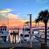 Pensacola Beach Marina and Sabine Bay.