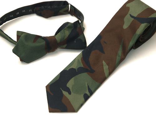 J.Crew / Camouflage Tie