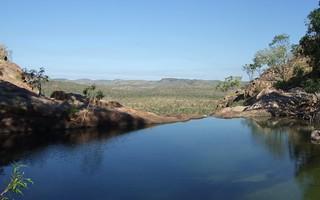 Infinity Pool, GunlomPools above Gunlom Falls, Kakadu NP, NT