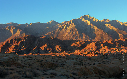 sunrise easternsierra alabamahills