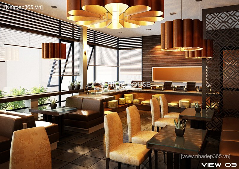 Thiết kế nội thất Saigontourist Cafe_5