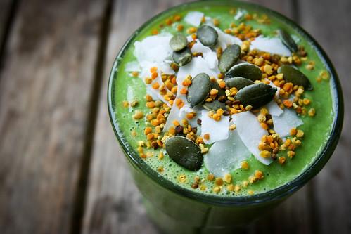 Hemp Protein Green Smoothie