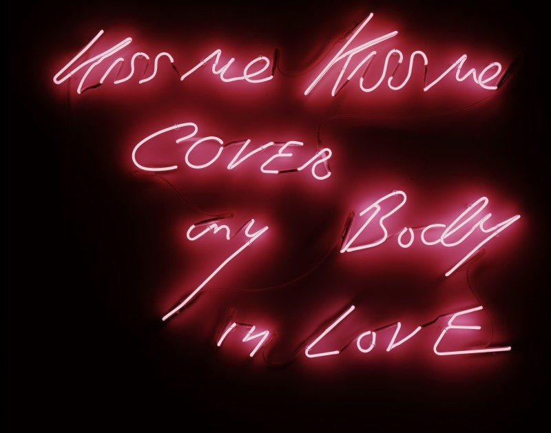 Tracey Emin at Museum of Contemporary Art North Miami