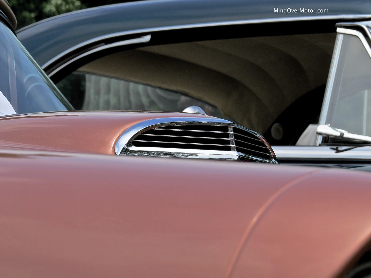 1957 Ford Thunderbird Hood Scoop