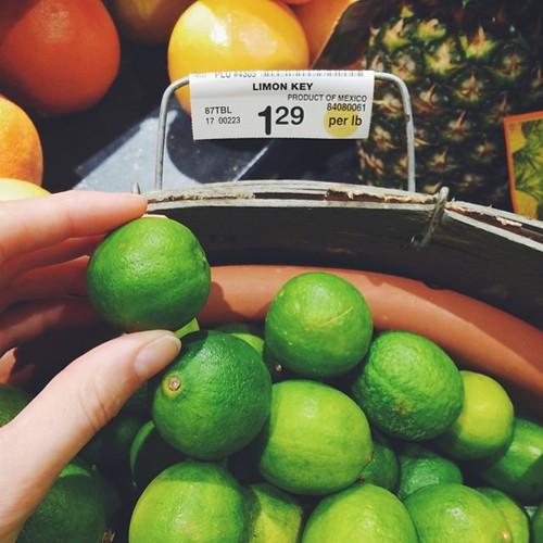 Key Limes!! Of course I got one    #vscocam #vsco #vscofood [ #eatfoodphotos Aug 7 | #somethingnew ] #jjupandaway