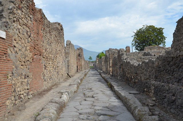 The Streets of Pompeii