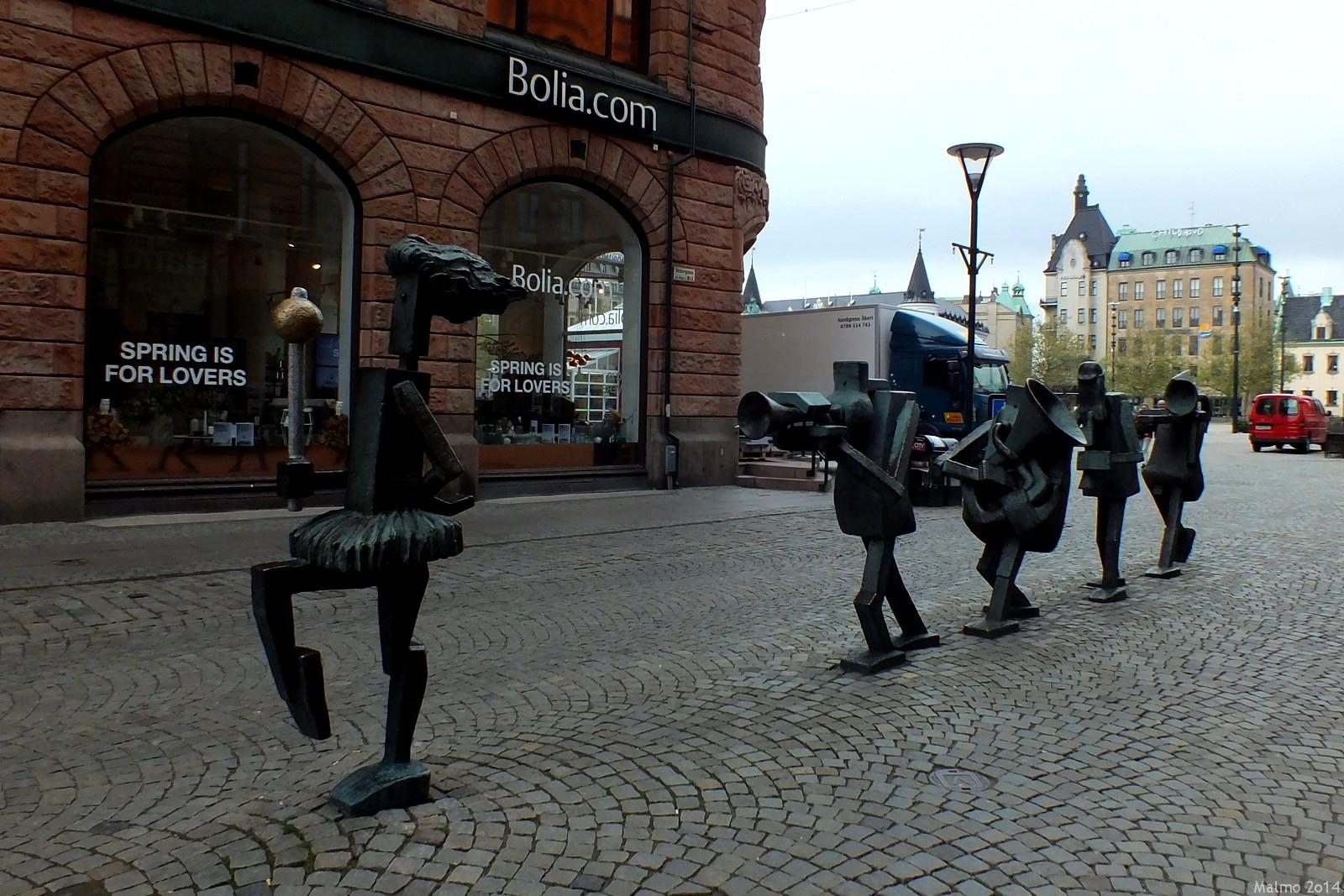 Optimistisk Orchestra, Södergatan, Malmö, Sverige