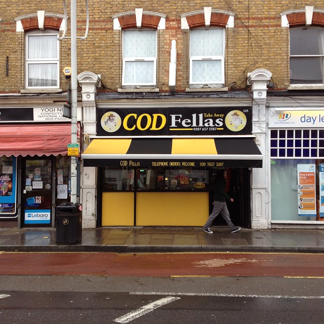 Cod Fellas chip shop