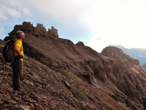 Seth Admiring Mt. Sneffels