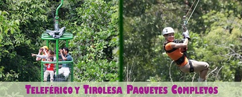 Costa Rica Atlantic Aerial Tram & Zip Line Full Packages