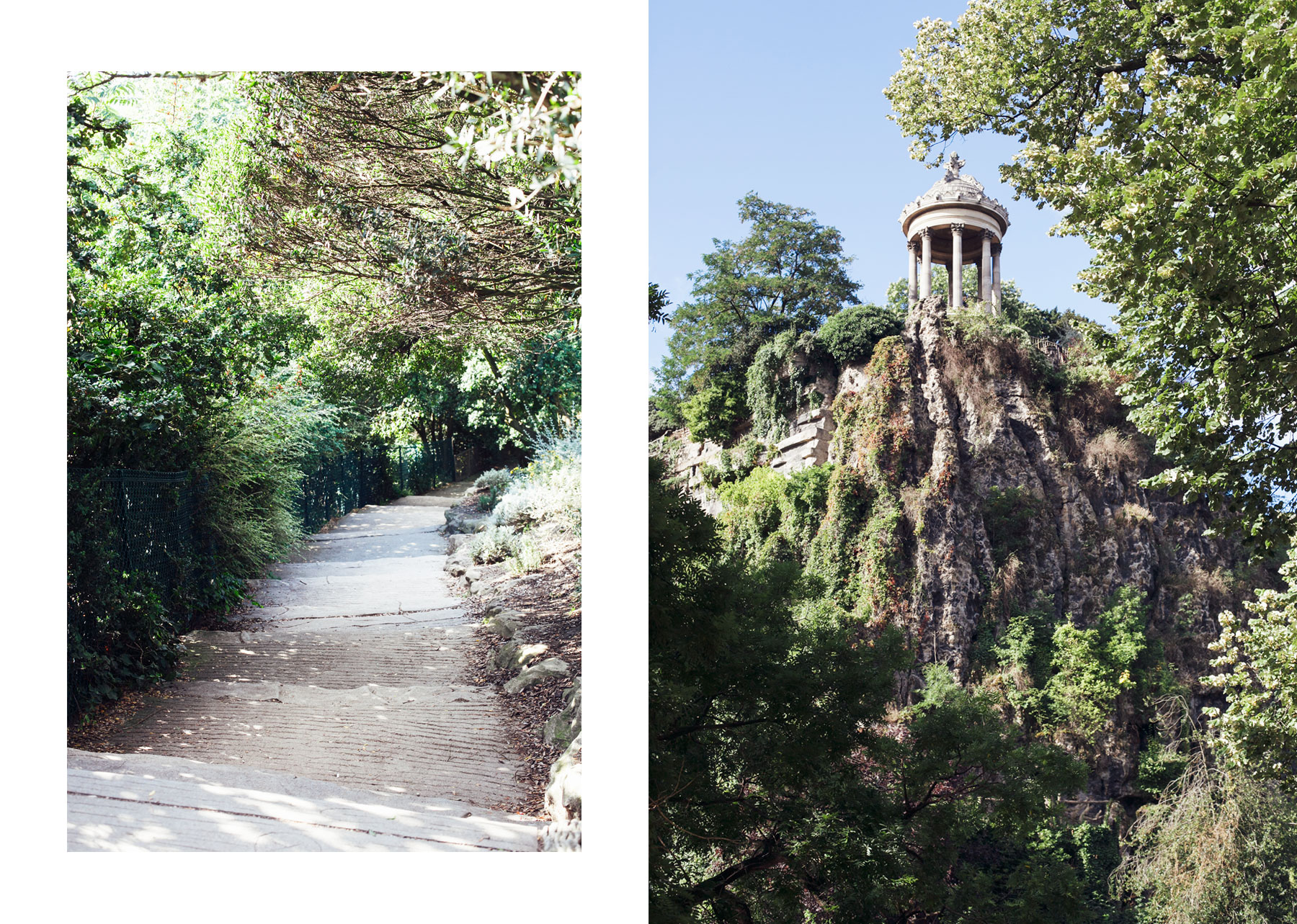 Parc des Buttes-Chaumont by Carin Olsson (Paris in Four Months)