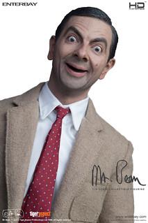 【發售資訊公開】這根本就是真人啦!~ ENTERBAY 推出1:4比例《豆豆先生》Mr. Bean!