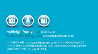 www.digitaldepot.co.za Ashleigh Martin 083 316 9445 Business Card Page2