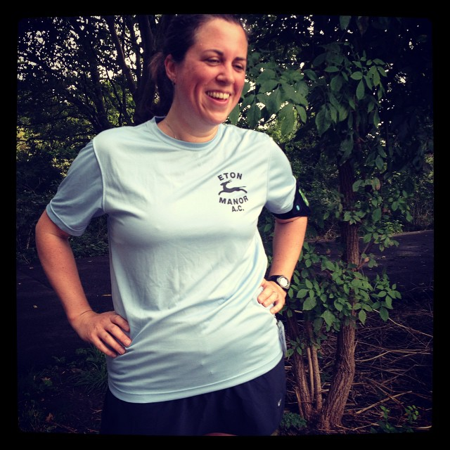 My first run wearing my new running club t-shirt! Another fast-ish parkrun; my times are coming back down again  #running #etonmanorac #parkrun