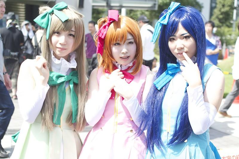 Minimi Kotori&Takasaka Honoka&Sonoda Umi[lovelive] -comic market 86 cosplay-