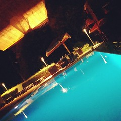 take a midnight swim