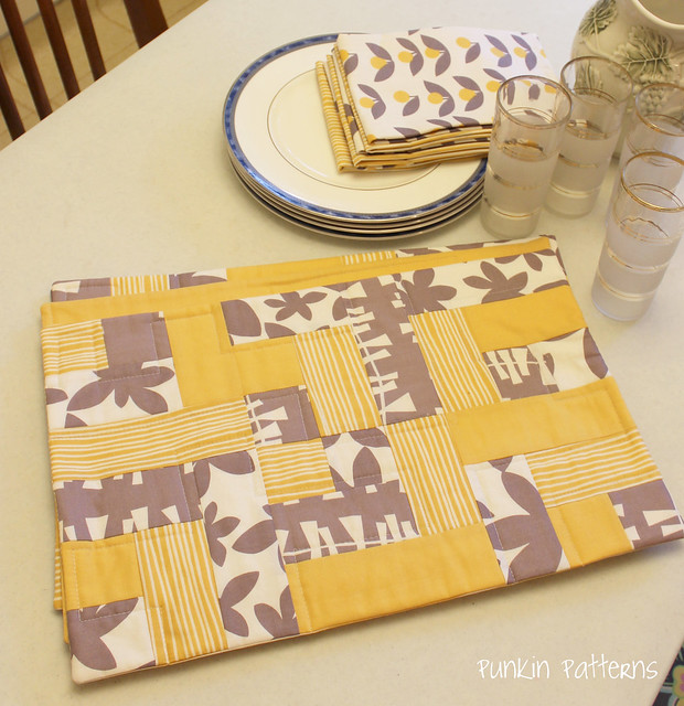 Easy-Peasy Placemats