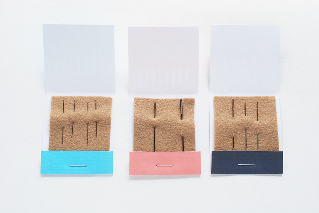 Printable Matchbook Style Needle Books