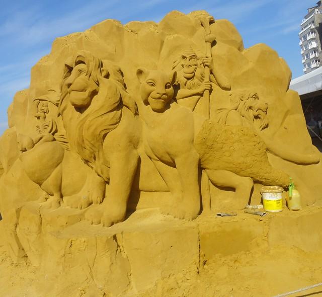 Sculpures sur sable Disney - News Touquet p.1 ! 14953832341_e8085a886e_z