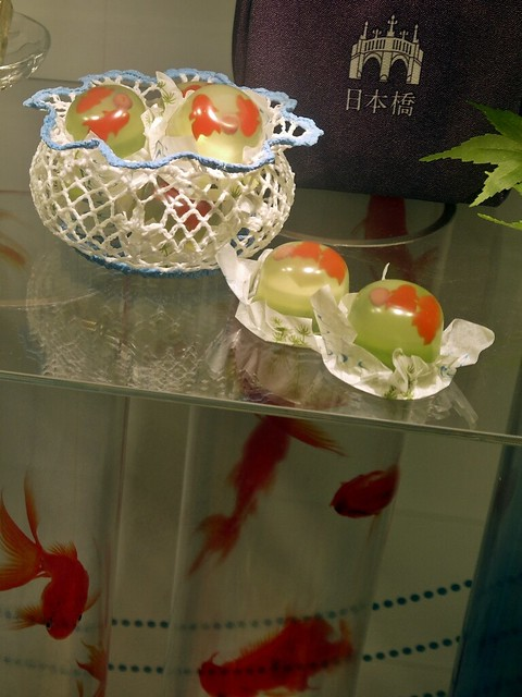 goldfish art exhibition