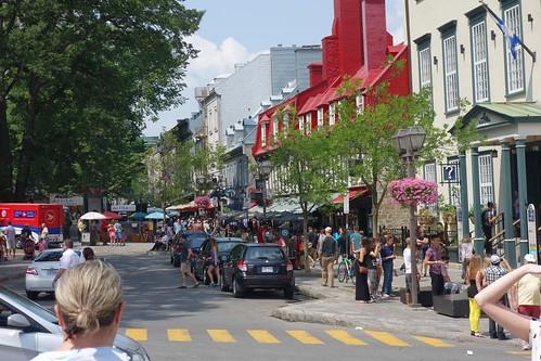 Rue Sainte-Anne Quebec City