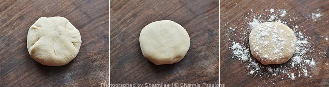 Carrot Cheese Paratha - Step4