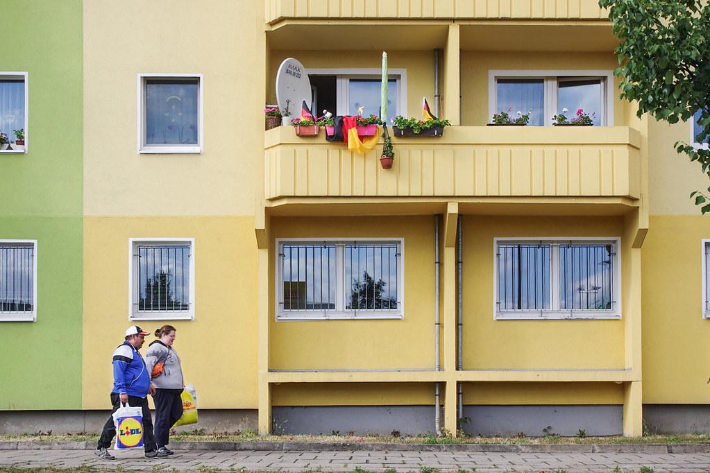 Berlin architecture - A l'est, la vie en couleur