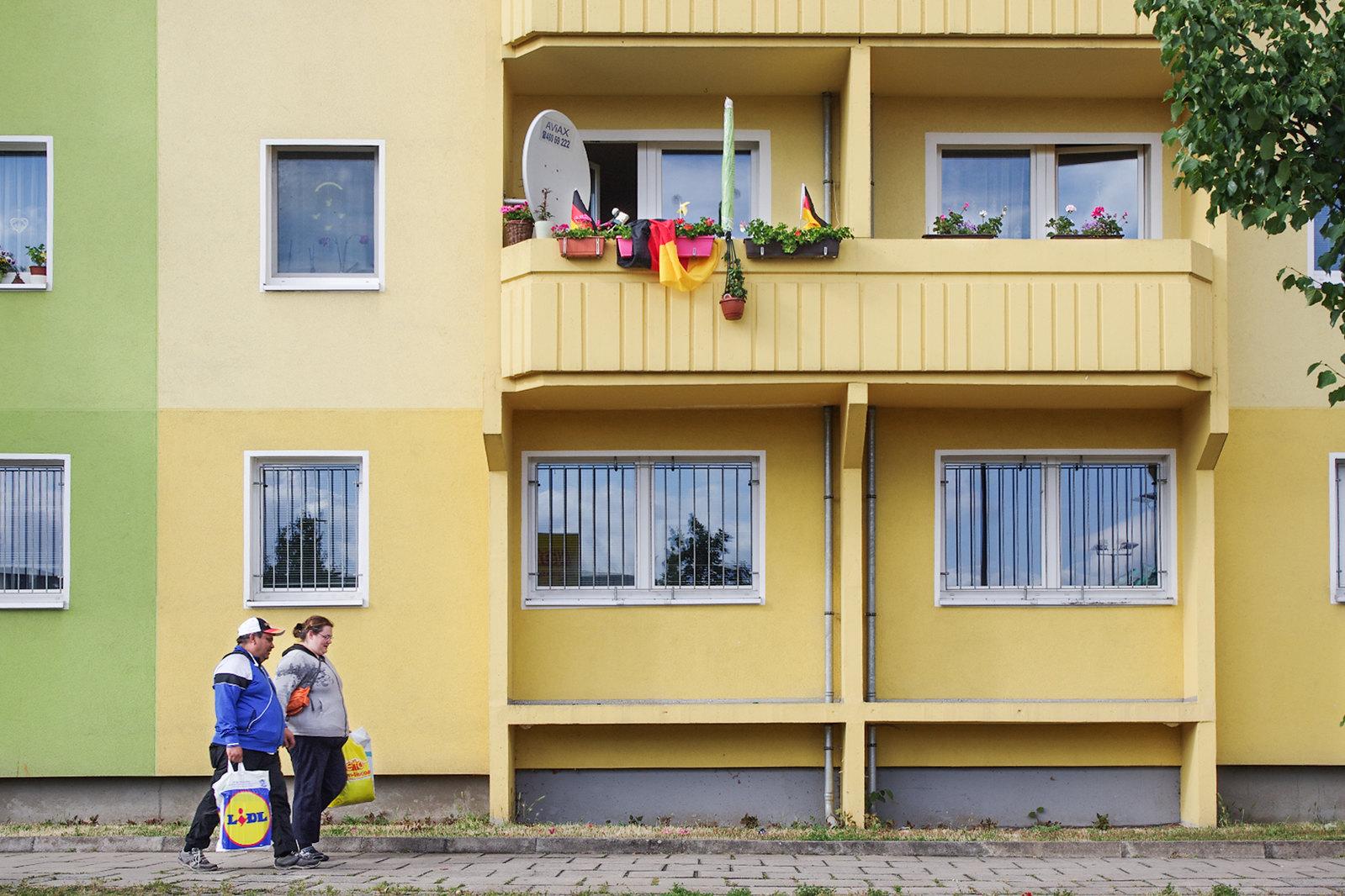 Architecture à Berlin - À l'est, la vie en couleur