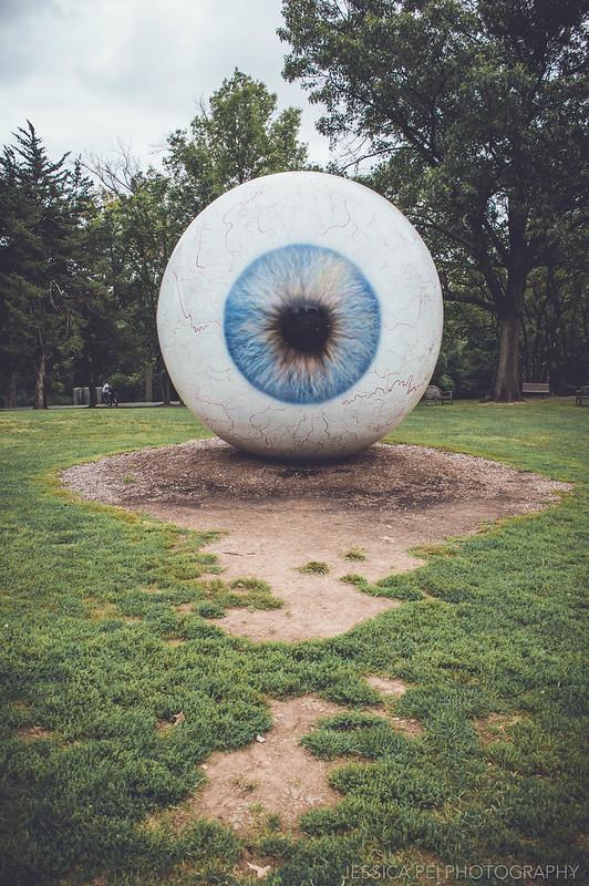eyeball laumeier sculpture park