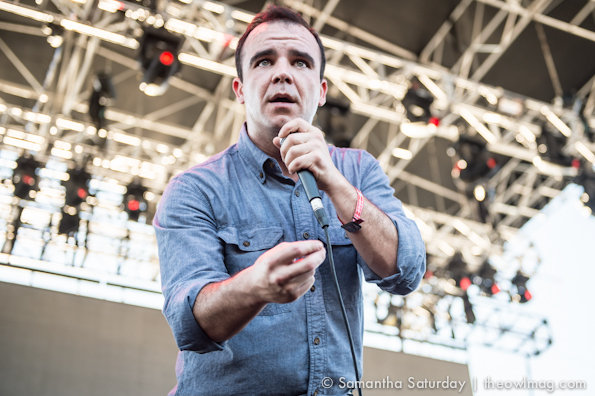 Future Islands @ FYF Fest 2014, Saturday