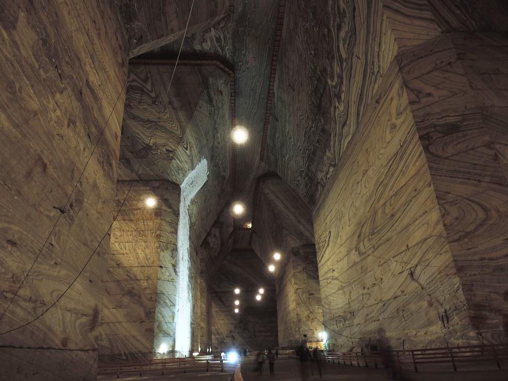 Slănic Salt Mine, 200 m below the ground level