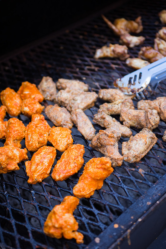 Tyson Any'Tizers Wings on the Grill #wingsandwipes #pmedia #ad