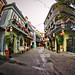 Quiet morning in New Orleans Square