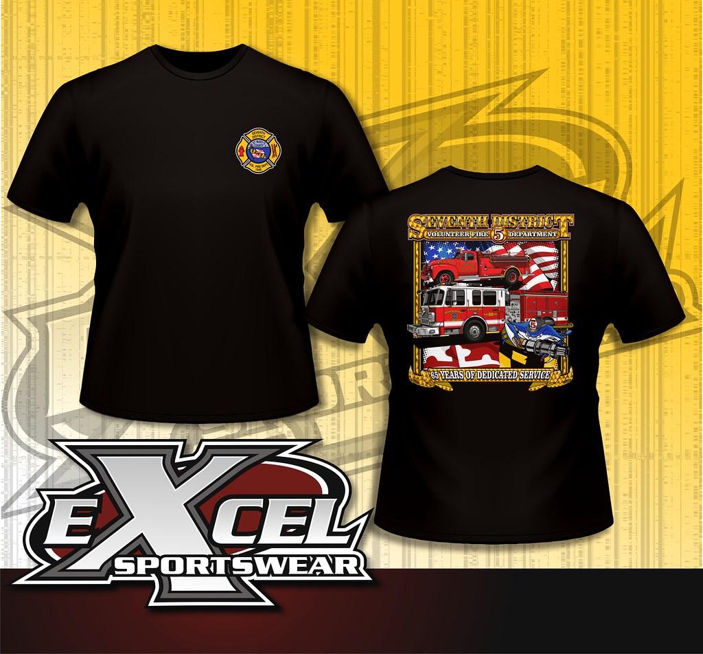 We Design Custom Fire Department Shirts Excel Sportswear