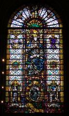 Dame Nellie Melba memorial window by Brian Thomas