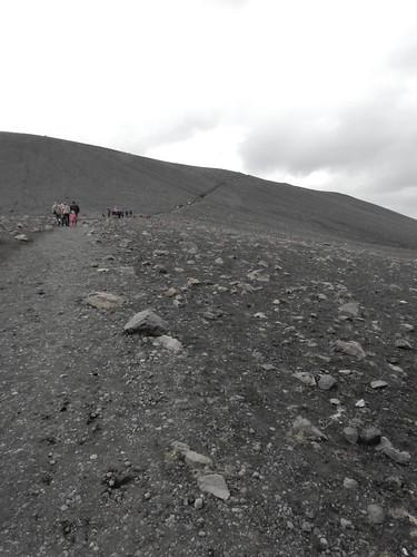 Climbing Hverfell