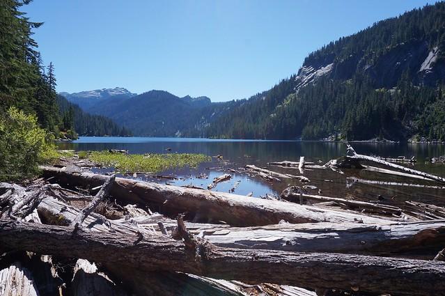 arrival at Lake Dorothy