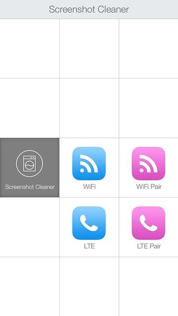 iOS screenshot LCP actions