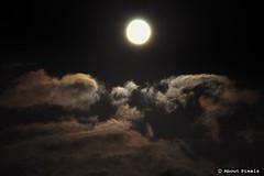 2014- 08 Snelle wolken en Supermaan (Centre/FR) - Photo of Luzeret