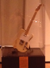 Steve Cropper's butterscotch Fender Telecaster electric guitar