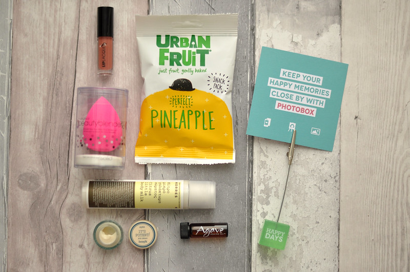 birchbox september 2014 beauty box rottenotter rotten otter blog 1