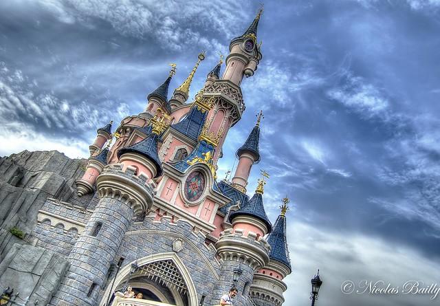 Disneyland Paris in HDR